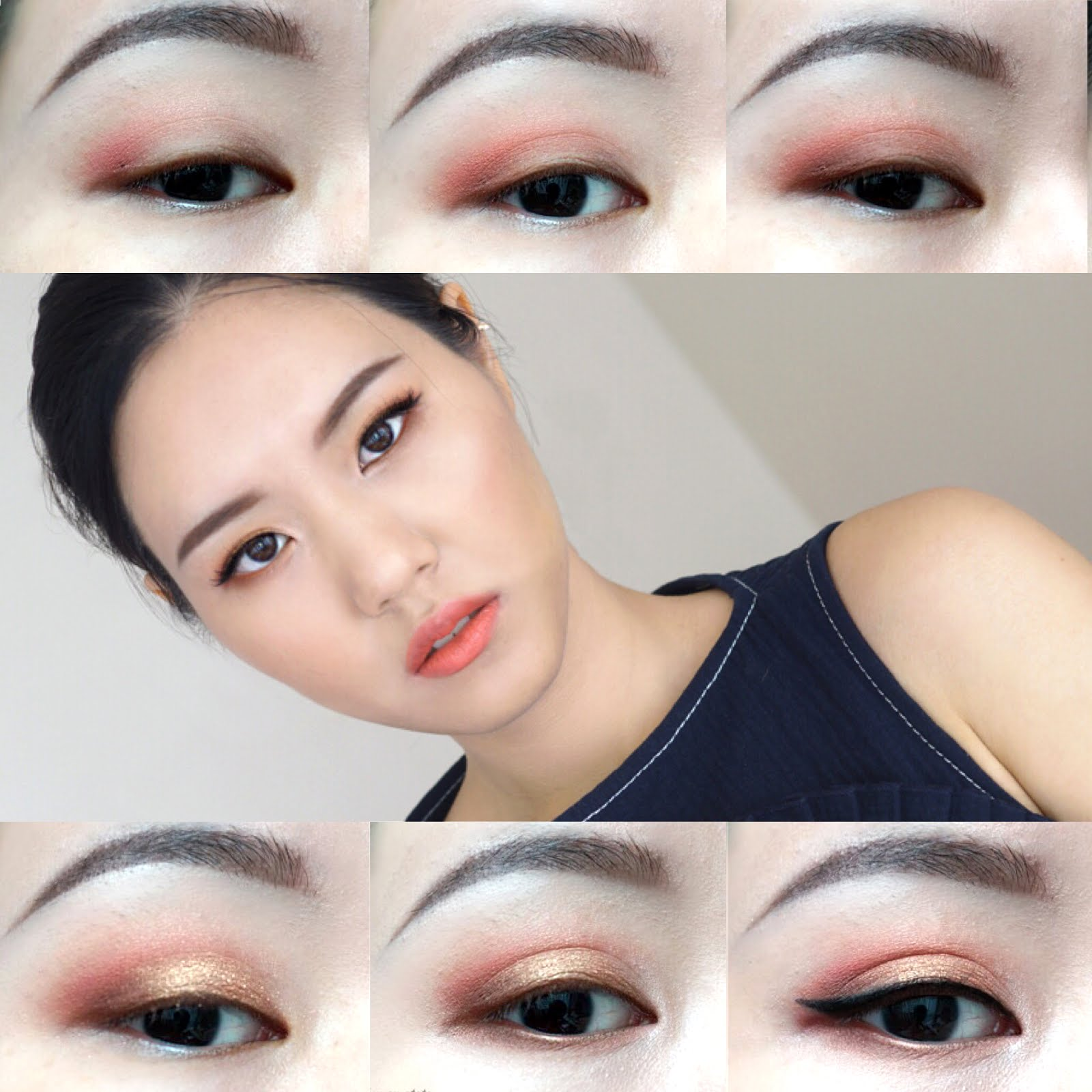 MAC Melon Pigment Eye Makeup Tutorial