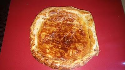 La galette des rois noix de coco/chocolat sans beurre