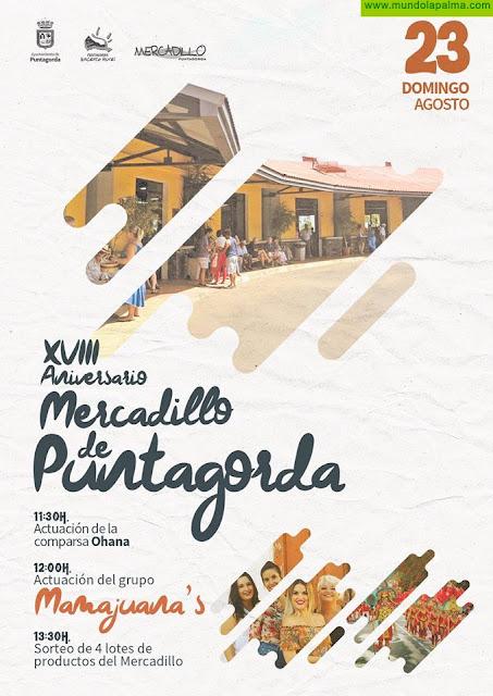 XVIII Aniversario Mercadillo de Puntagorda