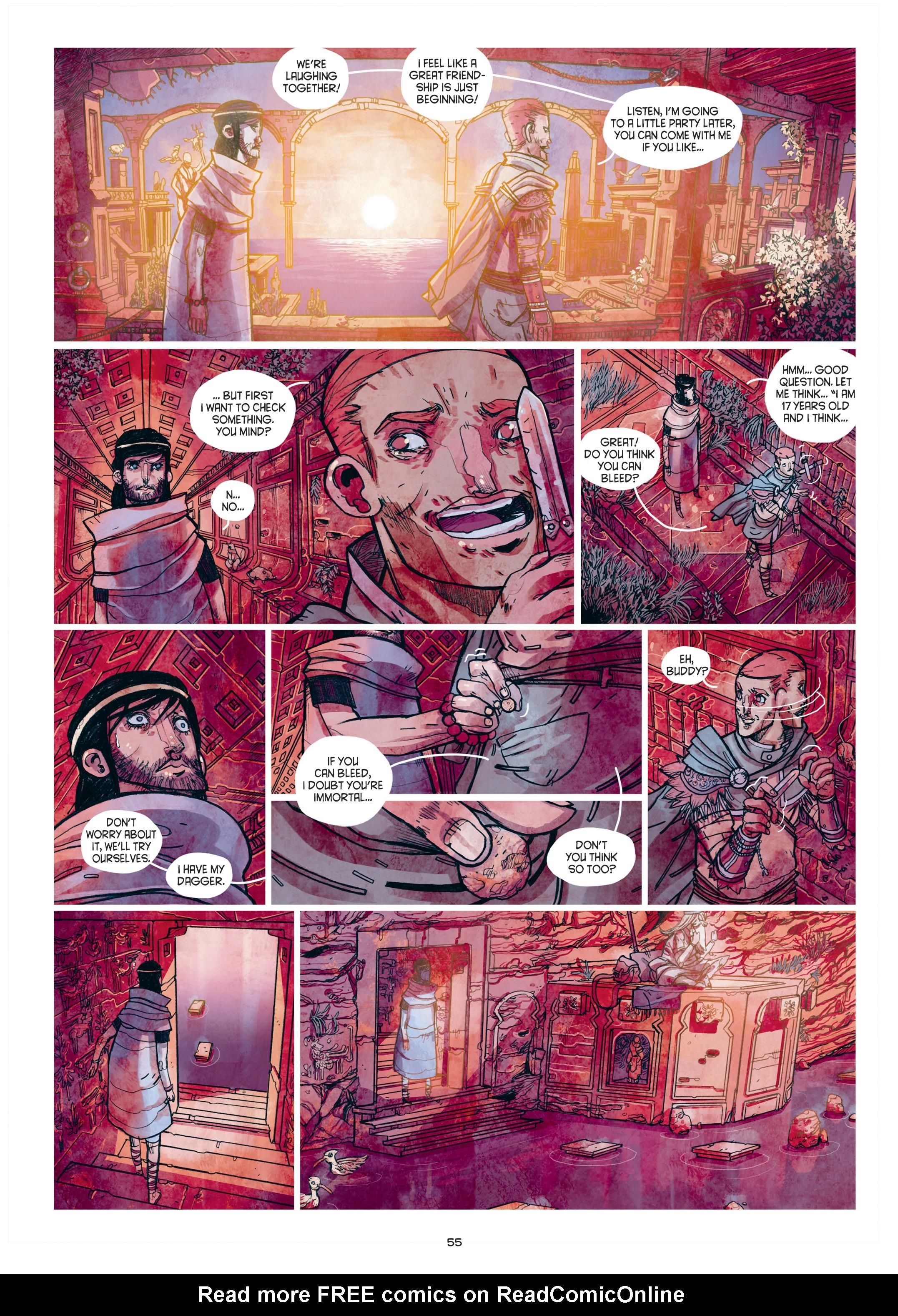 Read online Adrastée comic -  Issue #1 - 56