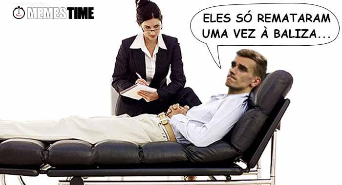 """Memes Time… da bola que rola e faz rir - Antoine Griezmann ainda não """"engoliu"""" a vitória de Portugal frente à França no euro 2016: """"Remataram uma vez..."""""""