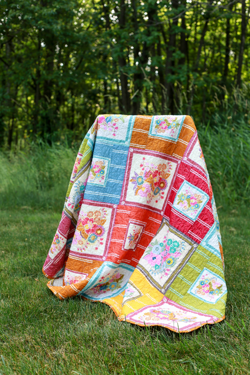 Little Folks Voile Summer Quilt