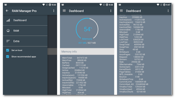 ram manager memory booster pro apk