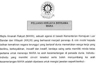 Praktikal Di Pejabat Mara Negeri Kelantan Cara Apply