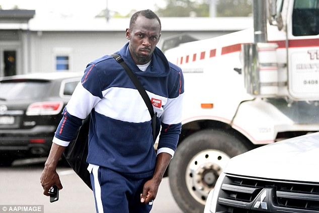Australian football club offers Usain Bolt a contract