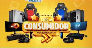 Participar Promoção Mês do Consumidor Kabum 2017
