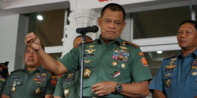 Panglima TNI Dikabarkan Dicekal Masuk ke Amerika