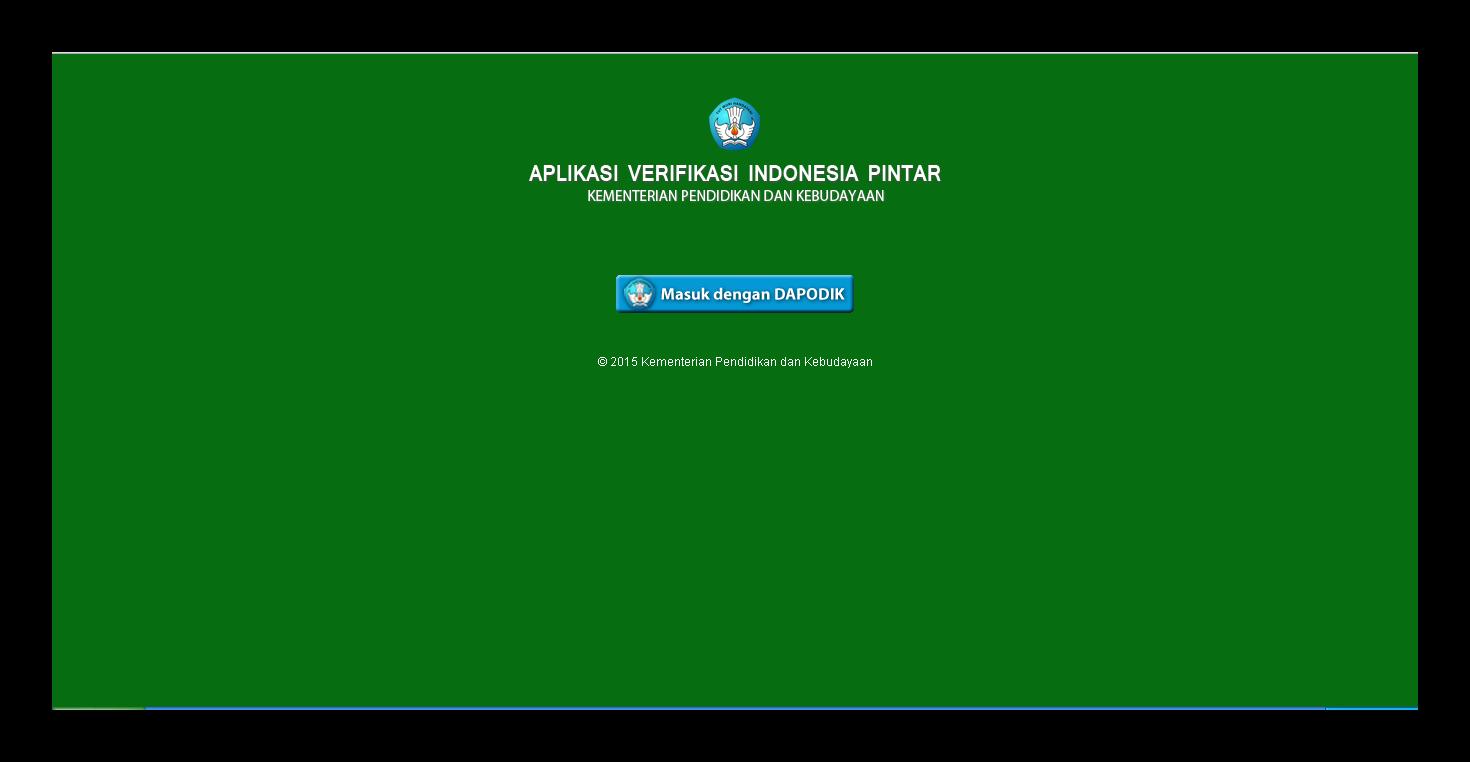 Aplikasi Verifikasi Dan Penjaringan Kartu Indonesia Pintar Kip Kemdikbudsekolah Kita