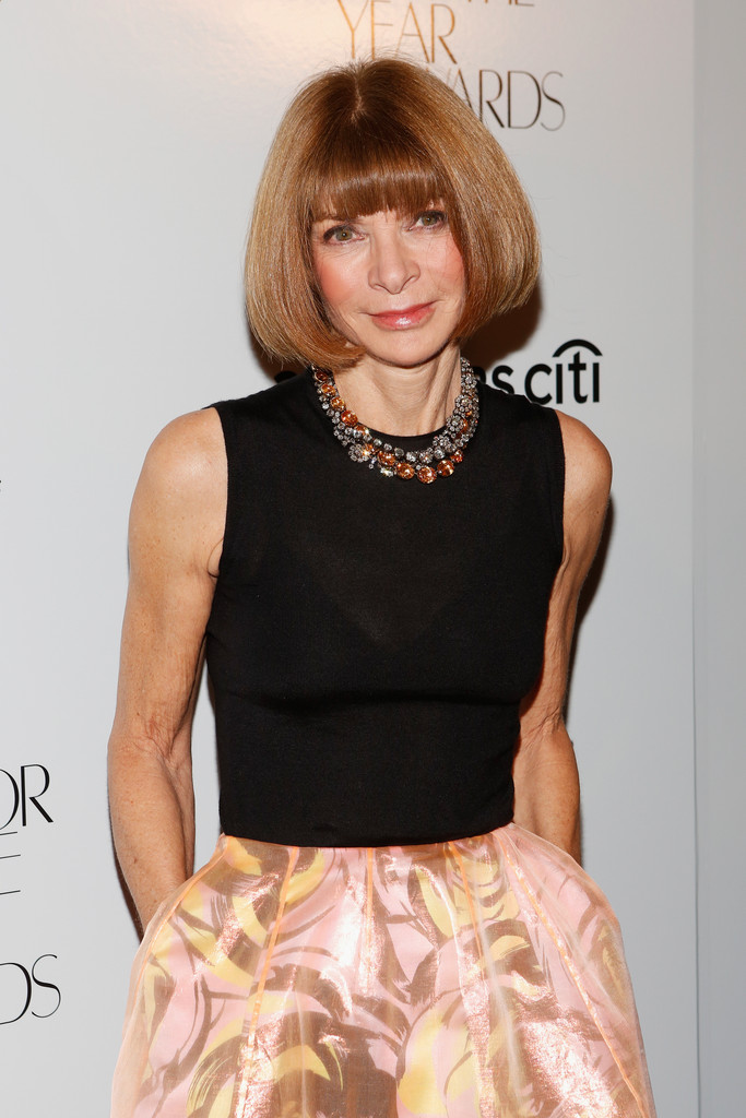 Anna Wintour Banned Ariana Grande From Wearing Ponytail: Combustion: Ambassador Anna Wintour?
