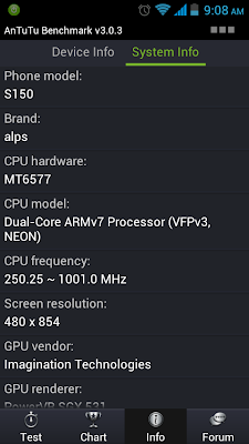 Cherry Mobile Skyfire Antutu Benchmark