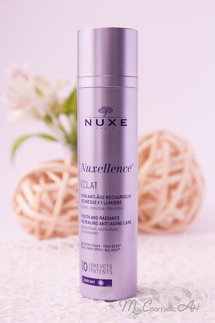 Nuxellence de Nuxe: contorno de ojos y crema de día.