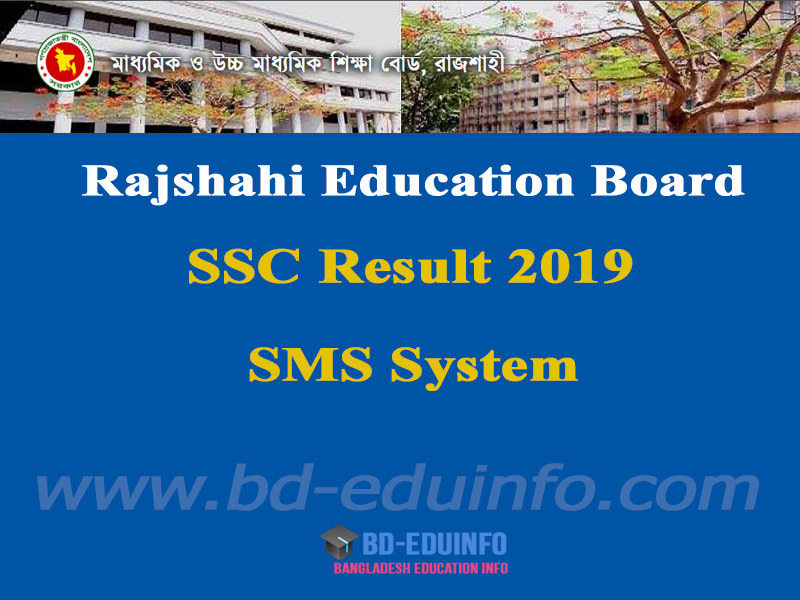 Rajshai Board SSC Exam Result 2019