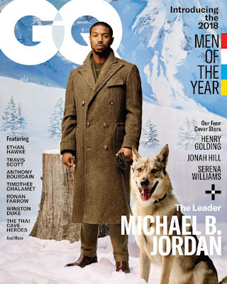 Michael B Jordan in dapper shots for GQ Man of the year cover