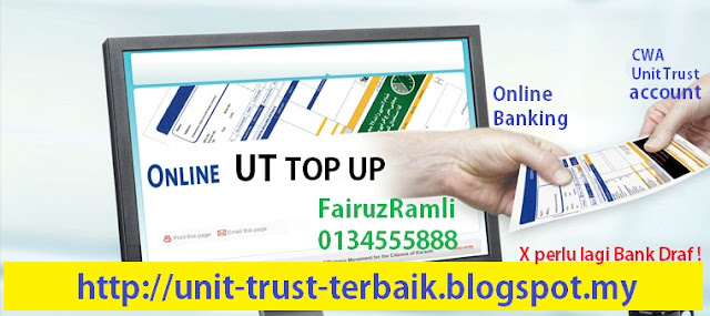 Cara Top Up Unit Trust Secara Online Transfer
