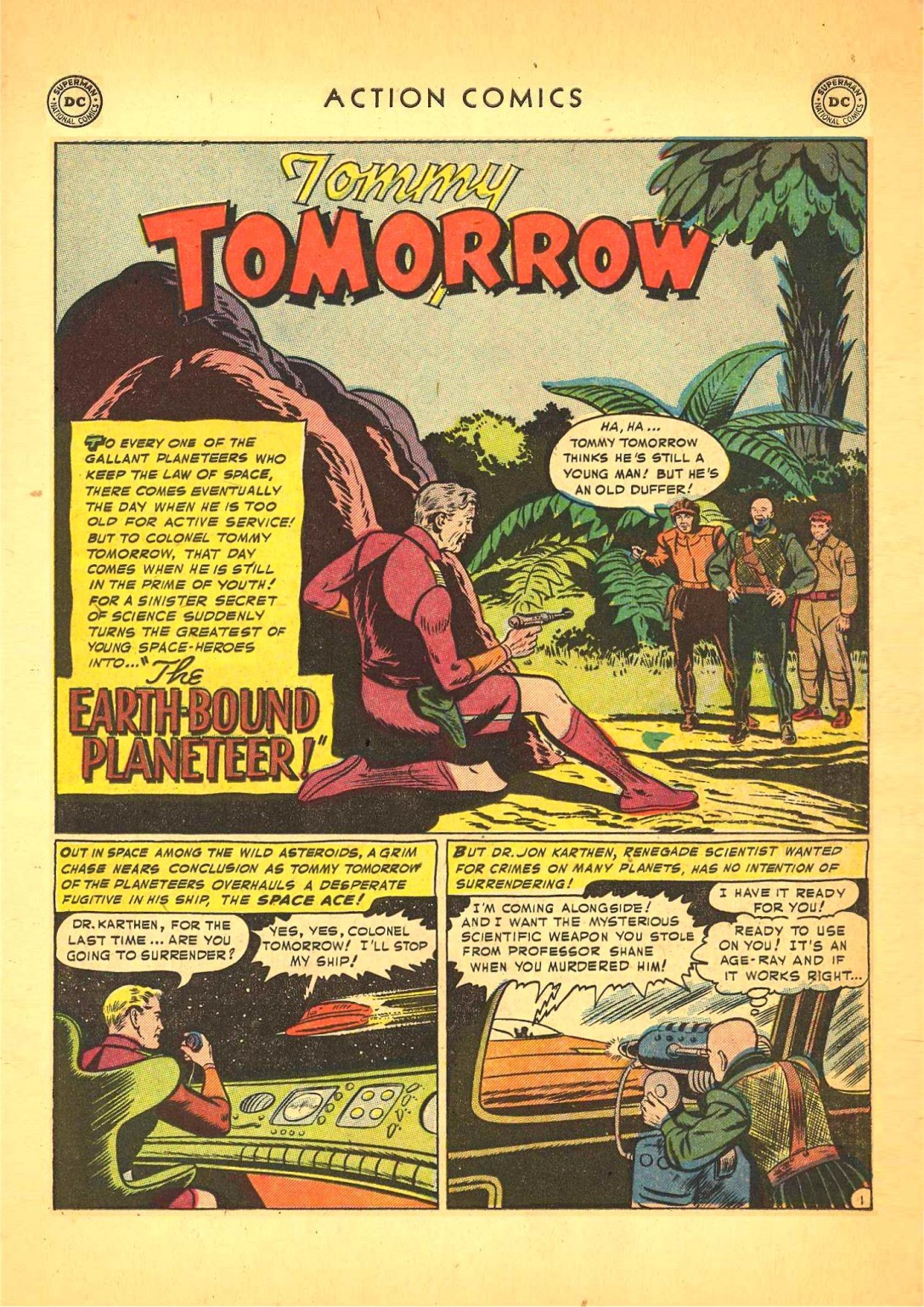 Read online Action Comics (1938) comic -  Issue #166 - 16