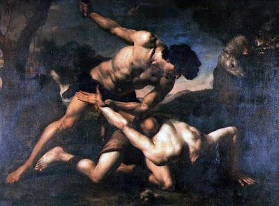 "Orazio Riminaldi, ""Cain and Abel"", 17th Century"