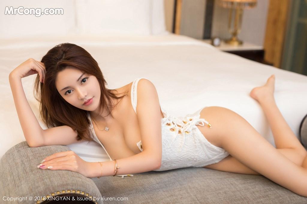 Image XingYan-Vol.099-Selina-MrCong.com-002 in post XingYan Vol.099: Người mẫu Selina思思 (42 ảnh)
