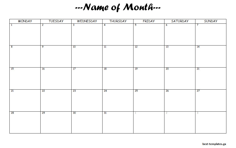 monthly study planner - Goalgoodwinmetals - study timetable