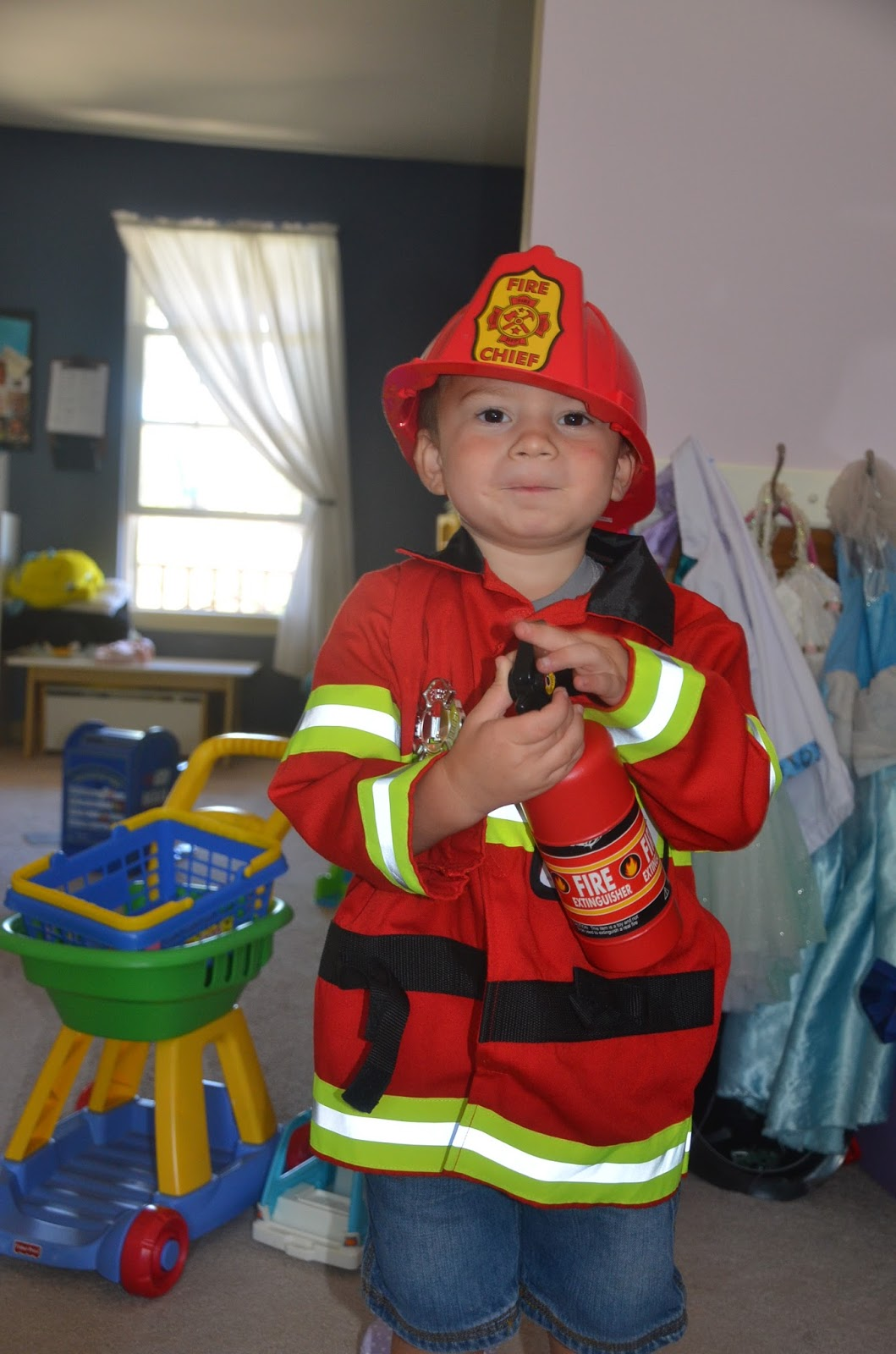 Aunt Tami S House Firefighters And Fire Trucks