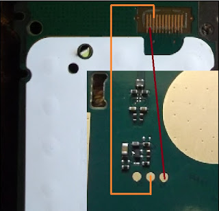 This post i will share with you how to solve your Nokia 107 LCD Light Problem. if your mobile phone Nokia 107 is water damage and your phone display is working but light is not work you check this red and orange mark line using AVO Miter.