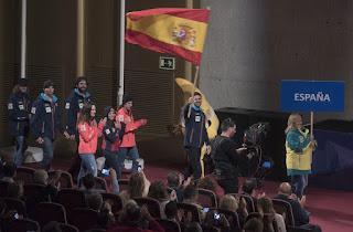 JUEGOS OLÍMPICOS - Lucas Eguibar será el abanderado español