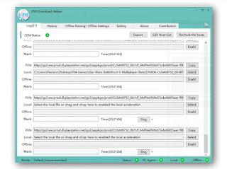 PSX Downloader Helper Log