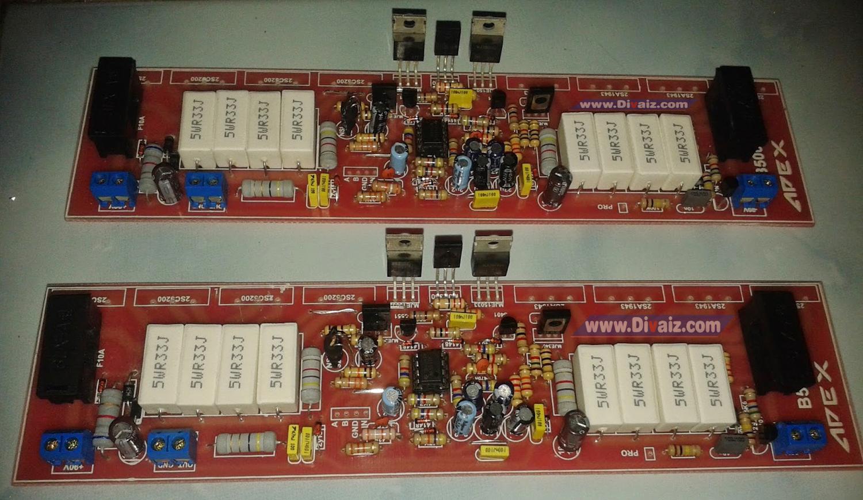 Kit Driver Power Amplifier 500 Watt APEX - www.divaizz.com