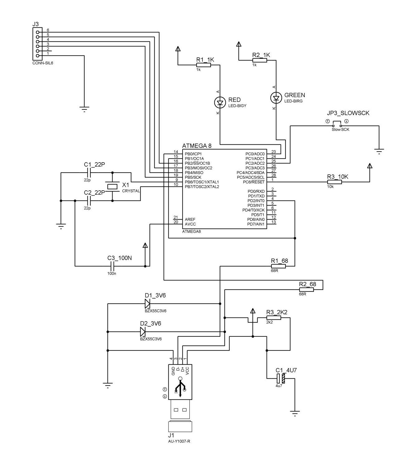 Microcontroller Blog Chapter 6 Making Your Own Usb Programmer Make Circuit Fig Usbasp