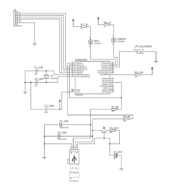 Microcontroller Blog: Chapter 6: Making your own USB