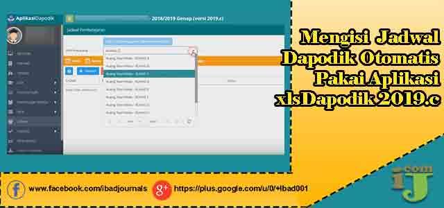 Mengisi Jadwal Dapodik Otomatis Pakai Aplikasi xlsDapodik 2019.c