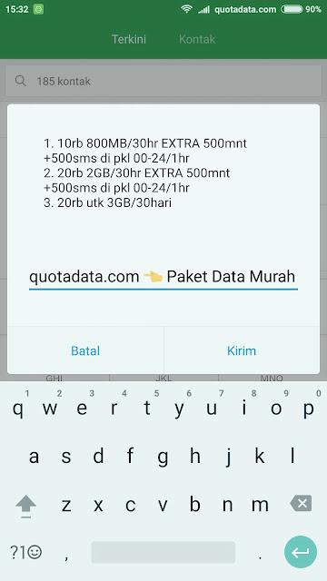 Kali ini ane akan sharing sidikit trik atau  Kuota Data Irit Telkomsel 2019 2GB 20rb Terbaru