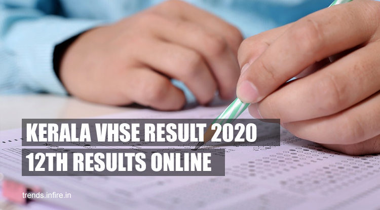 Kerala VHSE Results 2021