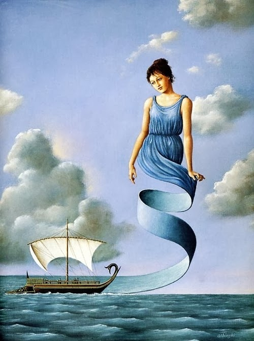 02-Artist-Painter-and-Graphics-Designer-Rafal-Olbinski-Surreal-Paintings-www-designstack-co