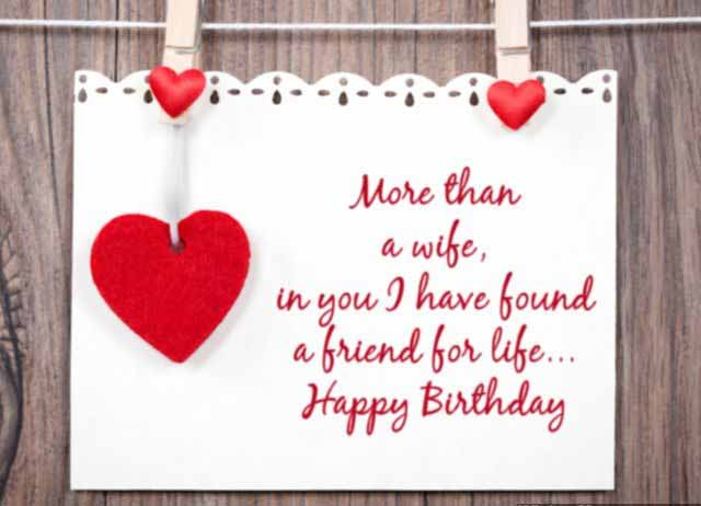 Birthday wishes for wifehappy birthday wishes for wifebirthday more than a wifein you i have found birthday wishes for wifehappy m4hsunfo