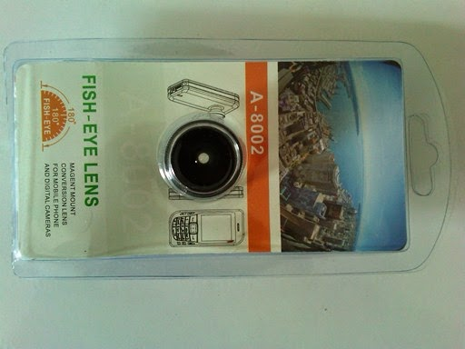 Lensa Fish Eye Magnet