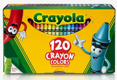 Crayola crayons - box of 120 colors