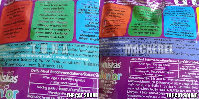 The Cat Sound Review Makanan Kucing Whiskas Junior Wet Food