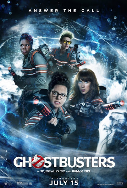 Poster of Ghostbusters 2016 720p English WEB-DL Full Movie Download
