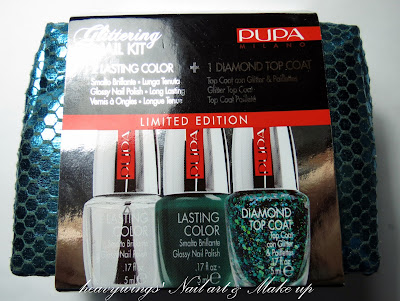 Glittering Nail Kit by Pupa - Review
