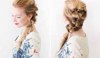 Braided topsy tail