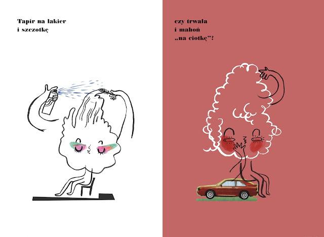 Polska Ilustracja Dla Dzieci Nowość U Fryzjera
