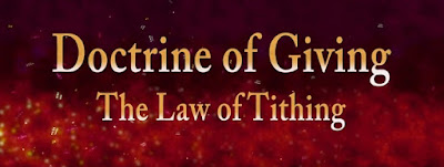 The Doctrine Of Tithe Payment In The Church