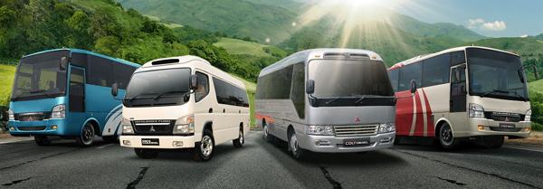 Bus Mitsubishi Colt Diesel