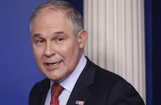 The US's top environmental official launched a program to formally challenge climate change science