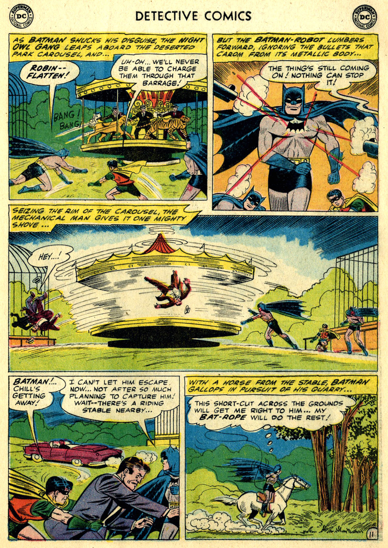 Detective Comics (1937) 281 Page 12