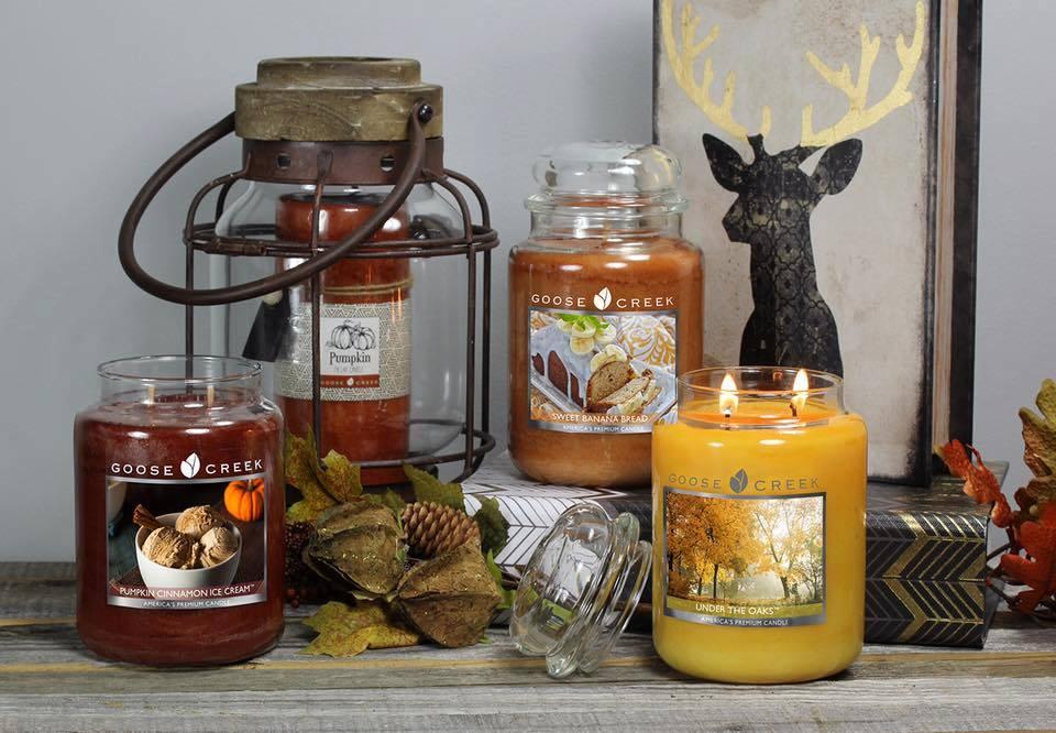 Goose Creek Candle - Kolekcja Jesień/Zima 2016 | Świecowa Niedziela