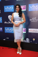 Actress Regina Candra Stills in Beautiful Sleeveless Blue Short Dress at SIIMA Short Film Awards 2017 .COM 0017.JPG