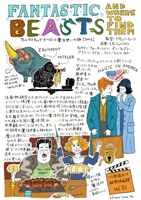『ファンタスティック・ビーストと魔法使いの旅』(2016)感想