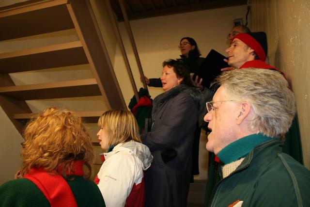 Caroling in Stairwells at Ottawa U, 2007