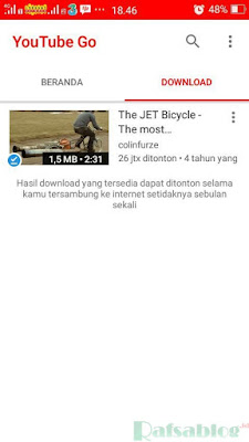 Youtube Go, Aplikasi Hemat Kuota Untuk Streaming Video Youtube di Android
